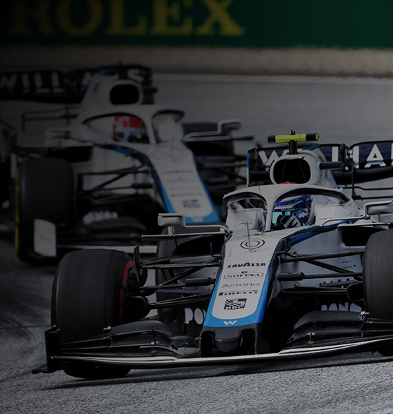 Williams cars racing