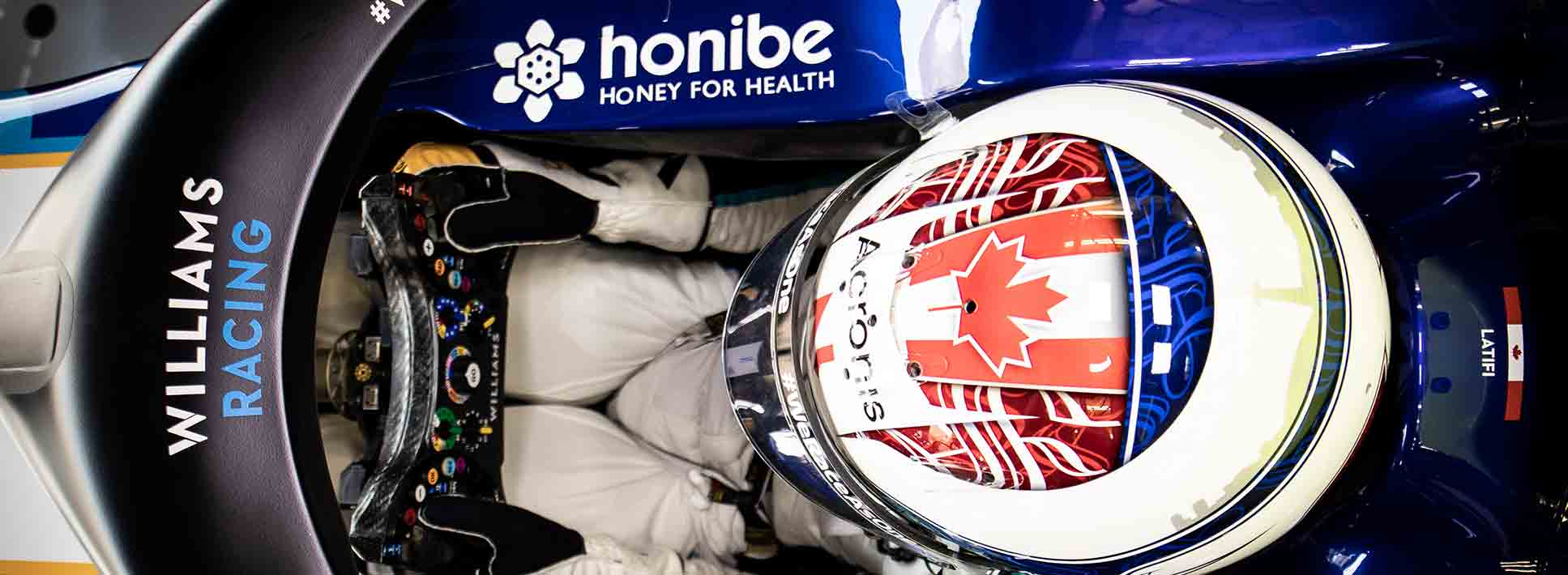 Williams Racing Welcomes Honibe® as Official Partner