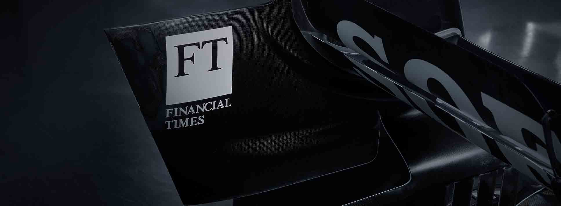 Williams Racing and the Financial Times Renew Partnership
