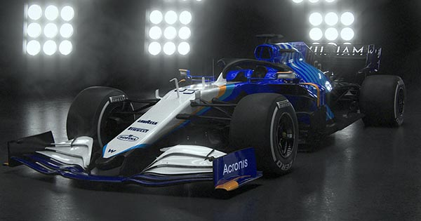 Williams Racing Unveils Livery for the 2021 Season