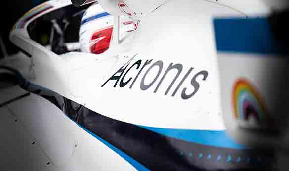 Williams Racing and Acronis announce cyber protection partnership extension