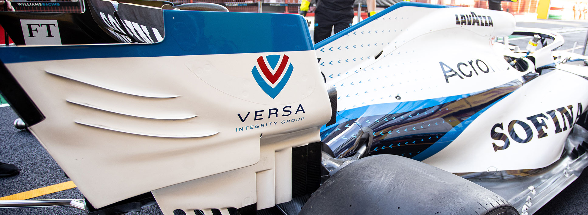Williams Racing Announces Partnership with Versa Integrity Group